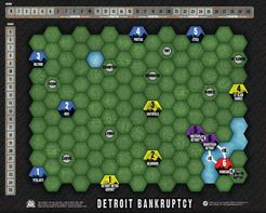 Age of Steam Expansion: Detroit Bankruptcy