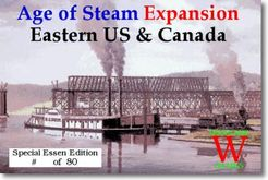 Age of Steam Expansion: Eastern US & Canada