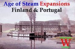Age of Steam Expansion: Finland & Portugal