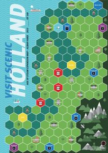Age of Steam Expansion: Holland / Madagascar