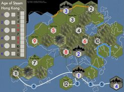 Age of Steam Expansion: Hong Kong