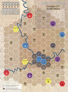 Age of Steam Expansion: Kansas City Interurban