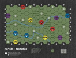 Age of Steam Expansion: Kansas Tornadoes