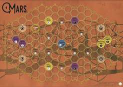 Age of Steam Expansion: Mars – Global Surveyor