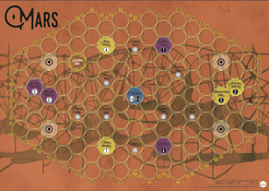 Age of Steam Expansion: Mars – Global Surveyor
