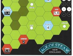Age of Steam Expansion: New England