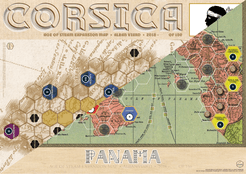 Age of Steam Expansion: Panama/Corsica