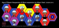 Age of Steam Expansion: Robot & Hexpansion