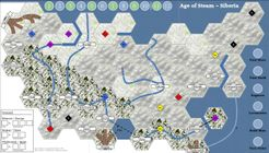 Age of Steam Expansion: Siberia