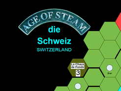 Age of Steam Expansion: Switzerland