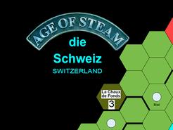 Age of Steam Expansion: Switzerland