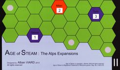 Age of Steam Expansion: The Alps
