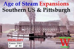Age of Steam Expansions: Southern US & Pittsburgh