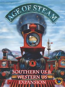 Age of Steam: Southern US / Western US Expansion