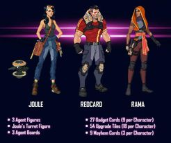 Agents of Mayhem: Bombshells Team
