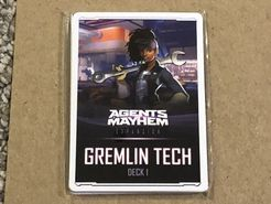 Agents of Mayhem: Gremlin Tech Deck 1