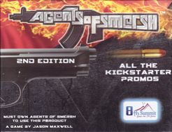 Agents of SMERSH: All the Kickstarter Promos