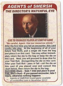 Agents of SMERSH: The Director's Watchful Eye Promo Card