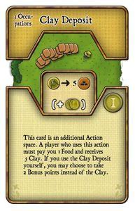 Agricola: Clay deposit