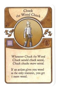Agricola: The Legen*dairy Forest Deck – Chuck the Wood Chuck