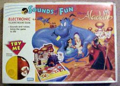 Aladdin: Sounds of Fun Electronic Talking Board Game