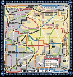 Alaska (fan expansion to Ticket to Ride)