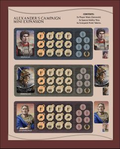 Alexander's Campaign: Mini Expansion