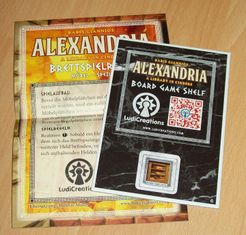 Alexandria: Board Game Shelf Promo