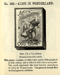 Alice in Wonderland: A Card Game