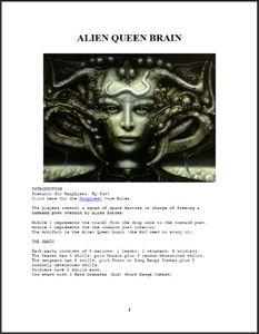 Alien Queen Brain
