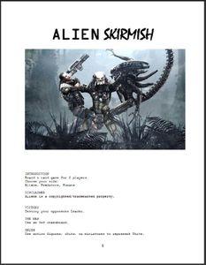 Alien Skirmish
