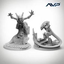 Alien vs Predator: Evolved Aliens