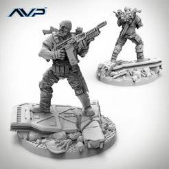 Alien vs Predator: USCM Officer