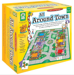All Around Town Sorting Game