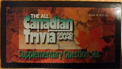 All Canadian Trivia Board Game: Supplementary Question Set
