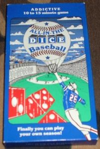 All-in-the-Dice Baseball
