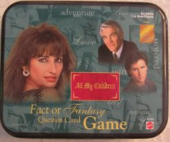 All My Children Fact or Fantasy Question Card Game