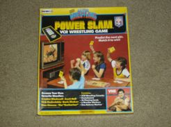 All Star Wrestling Power Slam VCR Wrestling Game