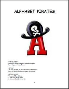 Alphabet Pirates