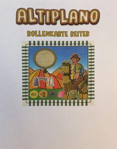 Altiplano: Role Tile Alpaca Rider