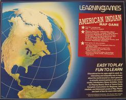 American Indian Map Game