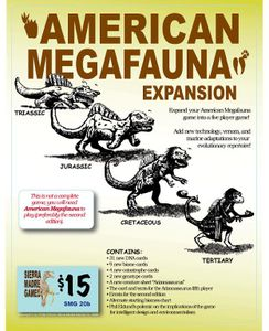 American Megafauna  (Second Edition): Expansion Set