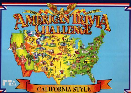 American Trivia Challenge California Style