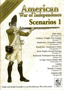 American War of Independence Scenarios 1