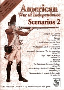 American War of Independence Scenarios 2