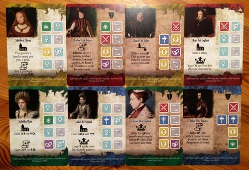 Among Nobles: Promo Character Cards