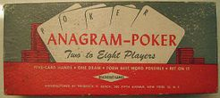 Anagram Poker