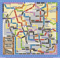 Ancient Greece (fan expansion to Ticket to Ride)