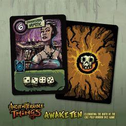 Ancient Terrible Things: Unnatural Mystic Promo Card