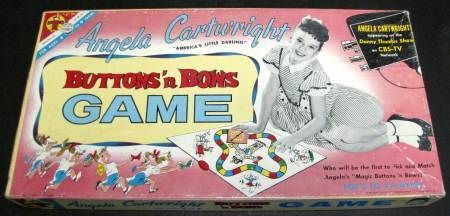 Angela Cartwright Buttons 'n Bows Game